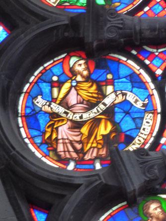 Notre-Dame de Tournai Rosace - Profeet SOPHONIAS