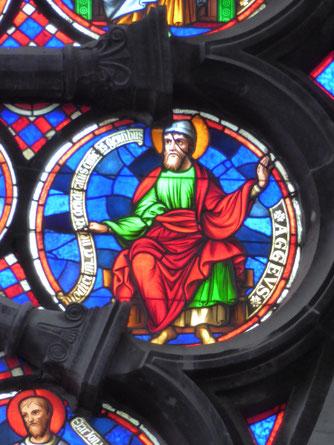 Notre-Dame de Tournai Rosace - Profeet AGGEUS