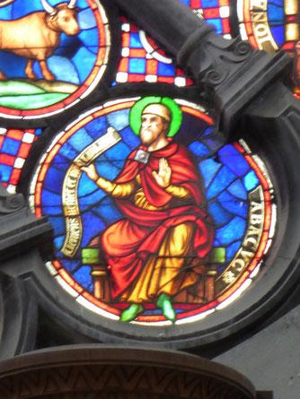 Notre-Dame de Tournai Rosace - Profeet ABACUC