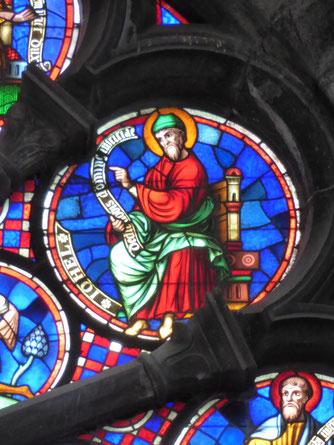 Notre Dame de Tournai Rosace - Profeet IOHEL