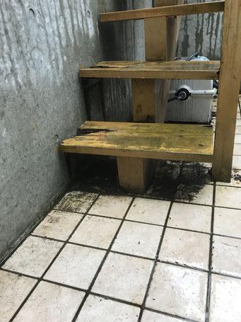 ウッドデッキ修理取付は札幌手稲の建築工房エンドウ