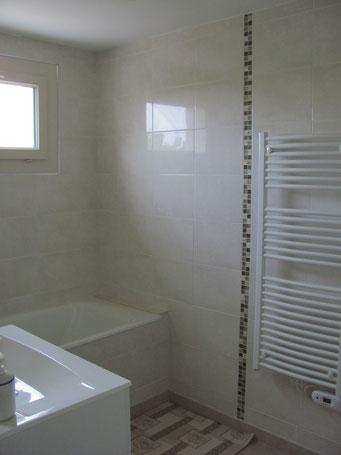 Maison de vacances montreuil bonnin - salle de bain