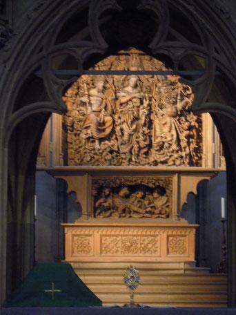 Altar Münster St. Stephan Breisach (Foto Archiv Messmer)