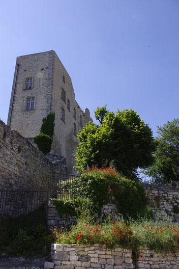 Lacoste village from marquis de Sade, the castle