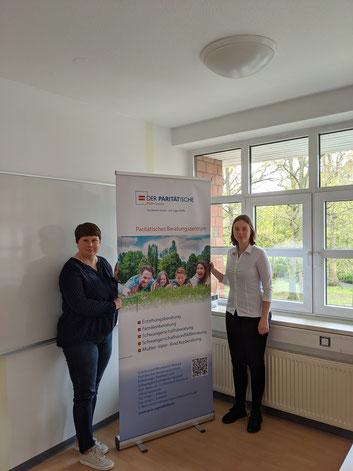 v.L. Jana Schweizer und Nadine Hofmann