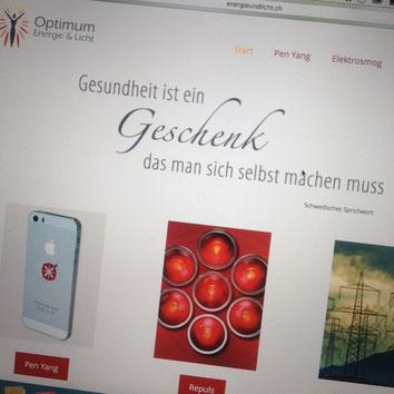 Druckatelier46 - Foto Webseitengestaltung Optimum Energie & Licht