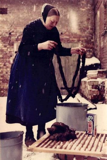 Sorbisches Handwerk- Flachsverarbeitung Bildrechte: Susann Wuschko