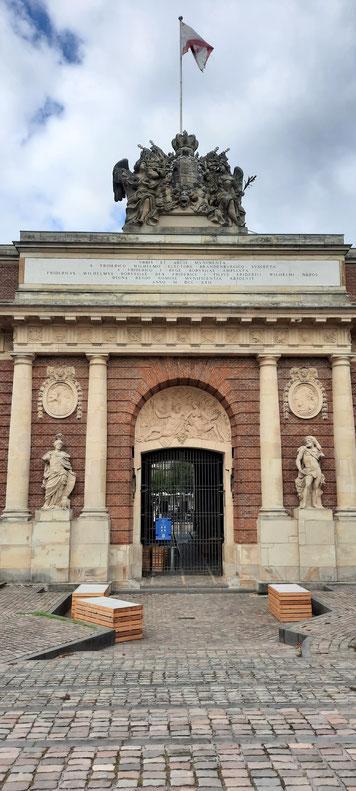 Berliner Tor, das letzte verbliebene Stadttor der Festung Wesel