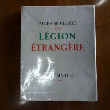 pages de glaoire de la légion etrangère   Andre Martel