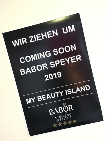 babor institut zieht nach Speyer, my Beauty Island, 2019