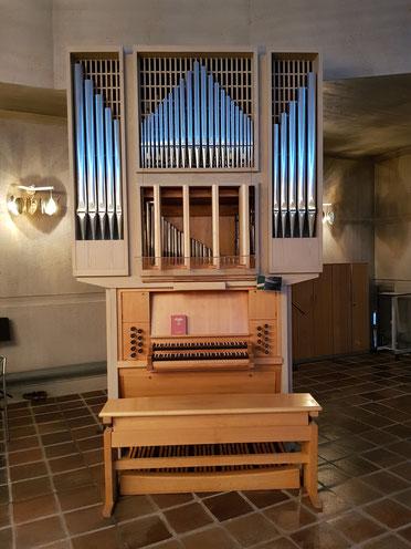 Orgel Mjölkuddskyrkan Luleå