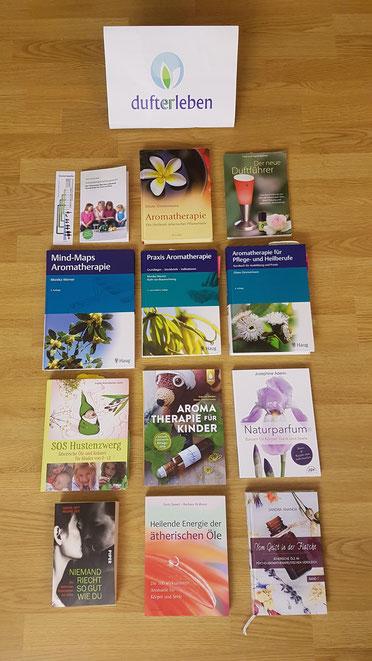Literaturtipps Aromatherapie Dufterleben