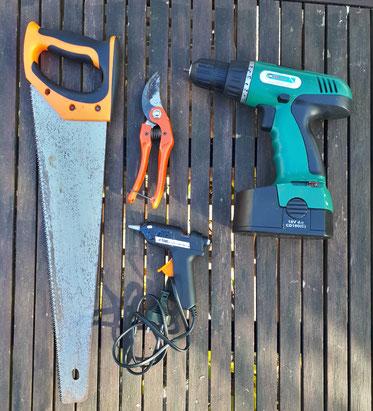 2-Réunir tous les outils