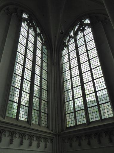 Energielijn Y in de Stevenskerk - zuidoosthoek van het transept