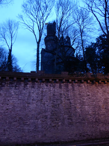 Antoing - De heuvel waar Ailbertus  d'Antoing is geboren.