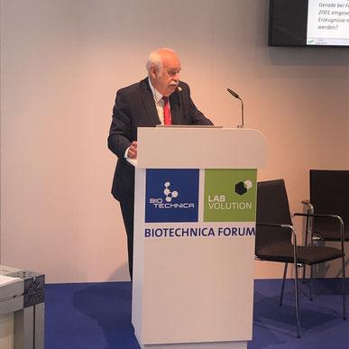 Prof. Dr. Klaus-Dieter Jany, Wissenschaftlerkreis Grüne Gentechnik e.V. (WGG)