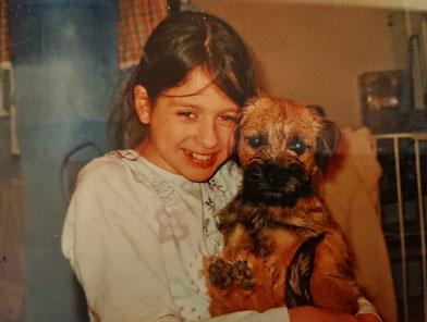 Mein Hund Nico und ich