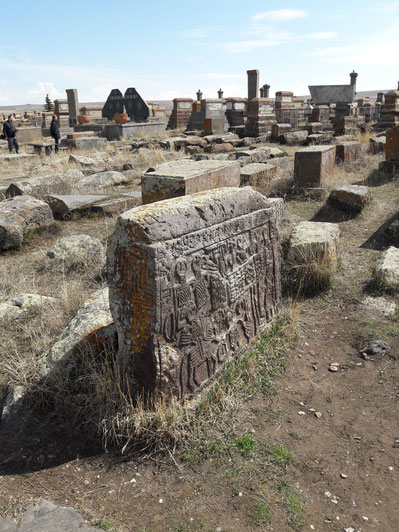 Voyage en Arménie - les stèles de Noradouz