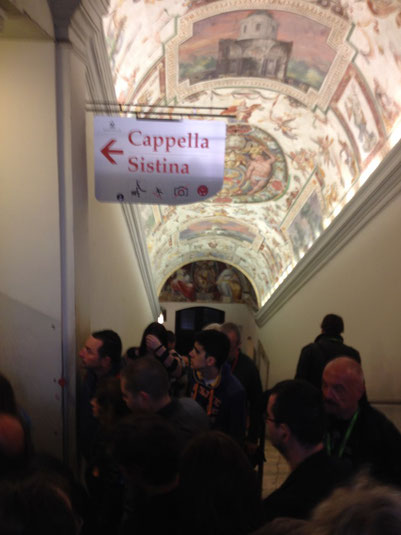 Italien, Rom, Vatikan, Vatikanstadt, Petersdom, sixtinische Kapelle, sistina Cappella