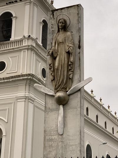 Costa Rica, San Jose, Kirche, Zentrum, Iglesia Nuestra Señora de la Soledad, Propeller