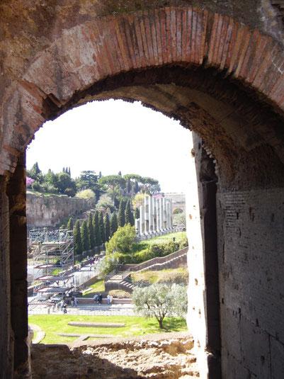 Italien, Rom, Colosseum, Kolosseum, Wahrzeichen, Tempel der Venus und Roma