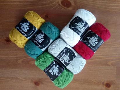 Cotton 8/4 från Mayflower Garn