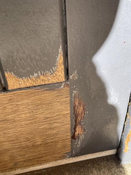 réparation porte et  boiserie extérieure