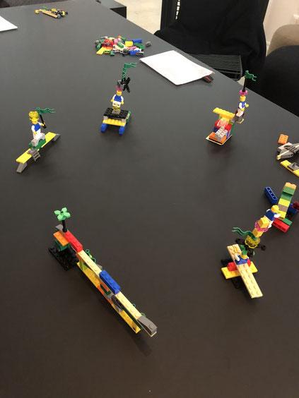 LEGO Serious Play Methode für bessere Kommunikation und Kooperation