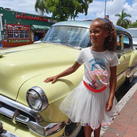 Cuba, Miami, Little Havana, Cubaanse auto.