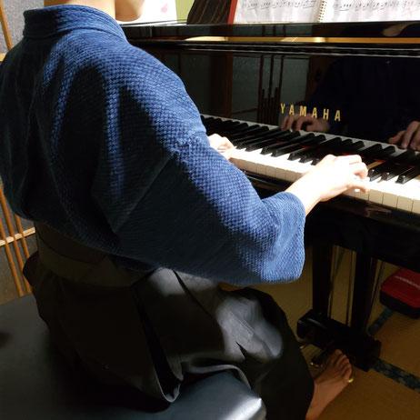諫早市ピアノ教室 剣道