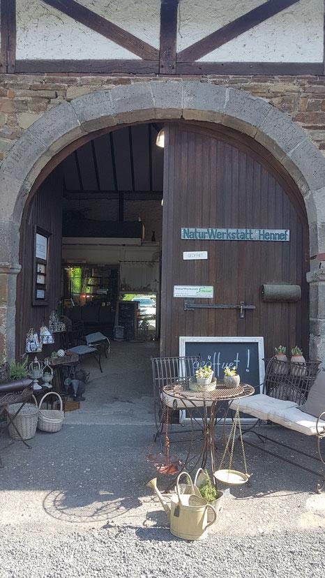 Eingang zur Blankenberger Mühle
