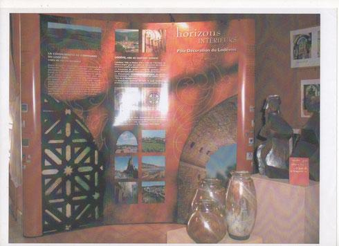 """Stand """" Horizons Intérieurs """" sur les Salons d'Artisanat d'Art - Sculpture de """" Caco et Sylvie """""""