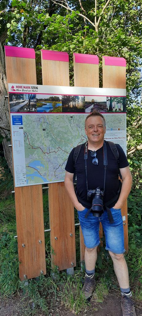 Am Startpunkt der Wanderung am Wanderparkplatz Bärenschleuse