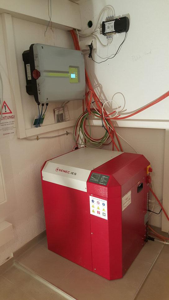 Senec Home 8.0 Bleiflüssig Stromspeicher in Barbing/Sarching
