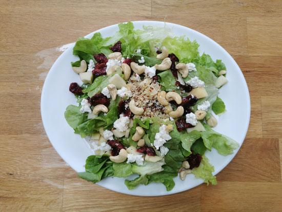 Salade composée aux figues de Mitroglute