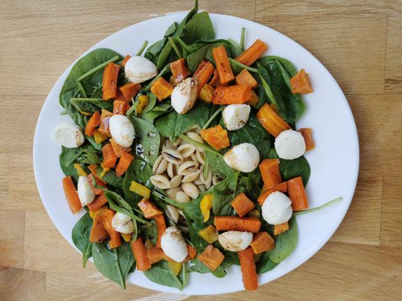Salade d'automne de Mitroglute