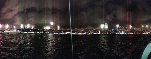 Fogo de artificio de 31 décembre