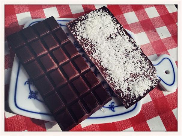 Schokolade ganz einfach selbst gemacht, Schokolade vegan aus dem Thermomix