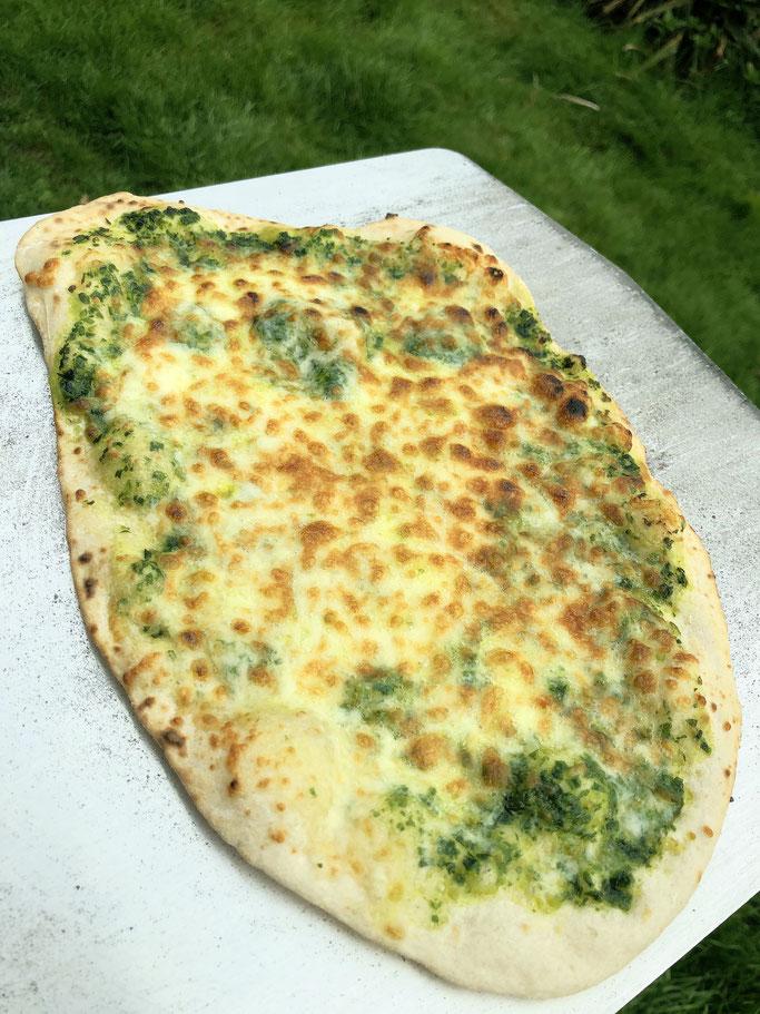 Bärlauch Pizza