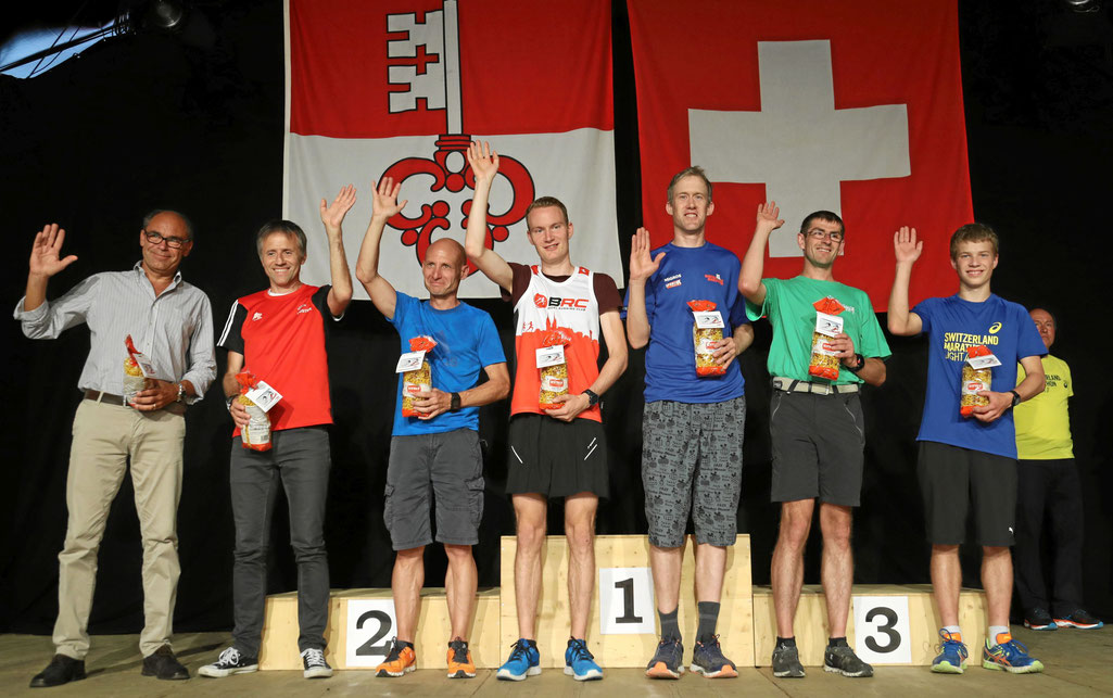 Third Place overall and in category m20, Photo switzerland-marathon-light.ch