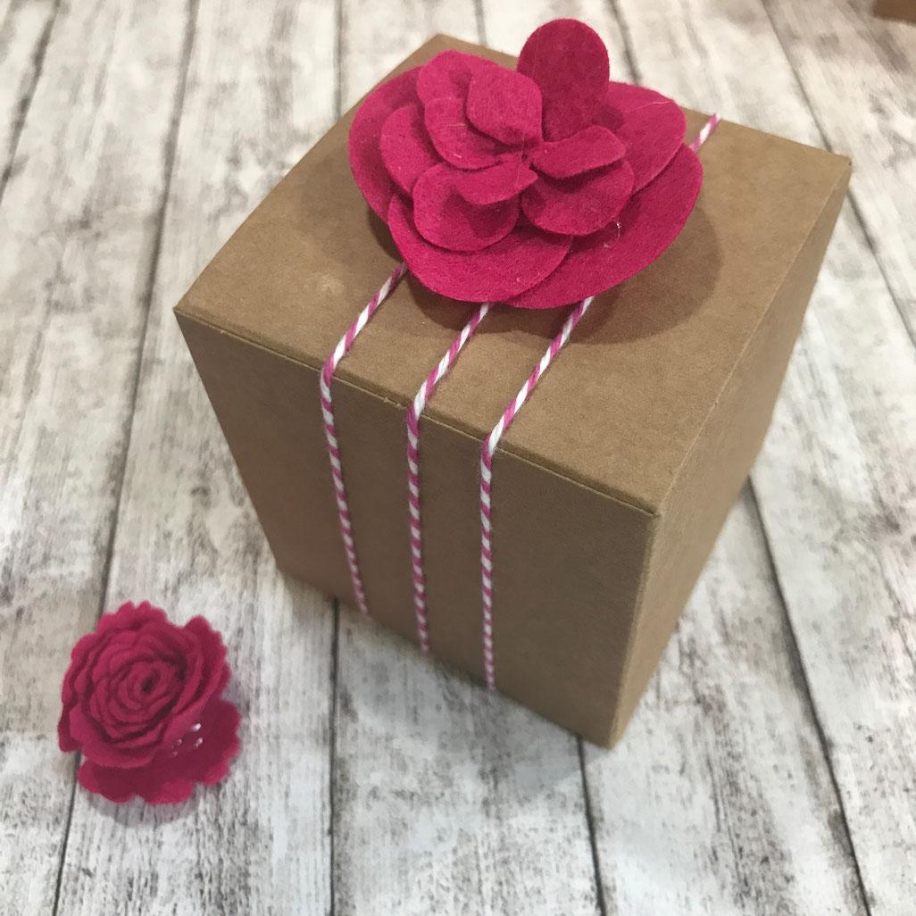 Geschenkboxen weiß