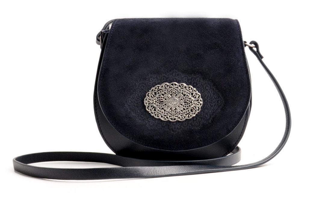 Trachtentasche Schultertasche Crossover blau  OWA Tracht versandkostenfrei
