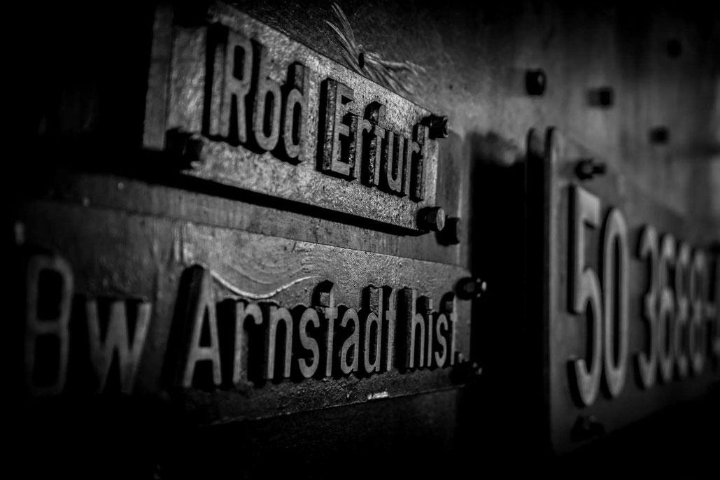 Dampflok, RAW Arnstadt, Bereichsausbesserungswerk