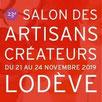 Salon des artisans créateurs de Lodève - Hérault.