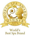 World's Best Spa Brand 2015 - Aesthetic Skincare