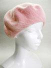 「ベレー帽」   ~ピンク・揺らめき~