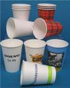 papieren drinkbekers koffiebekers scotty rode ruit bekers witte bekertjes naam bedrukte bekers in kleine oplages online bestellen kopen versteden drinkbekers tilburg