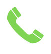 Grafik mit Telefonhörer zum Angebot des kostenlosen Rückrufs durch design + fotoart.