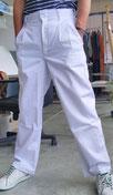祭り用 白色ズボン