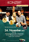 Martin Pepper live 24.11.2018